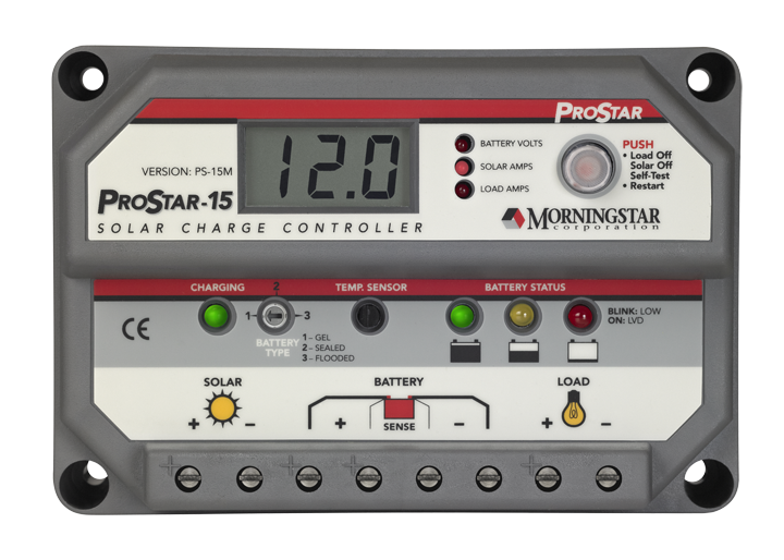 MORNINGSTAR PROSTAR PS-15M 12-24V